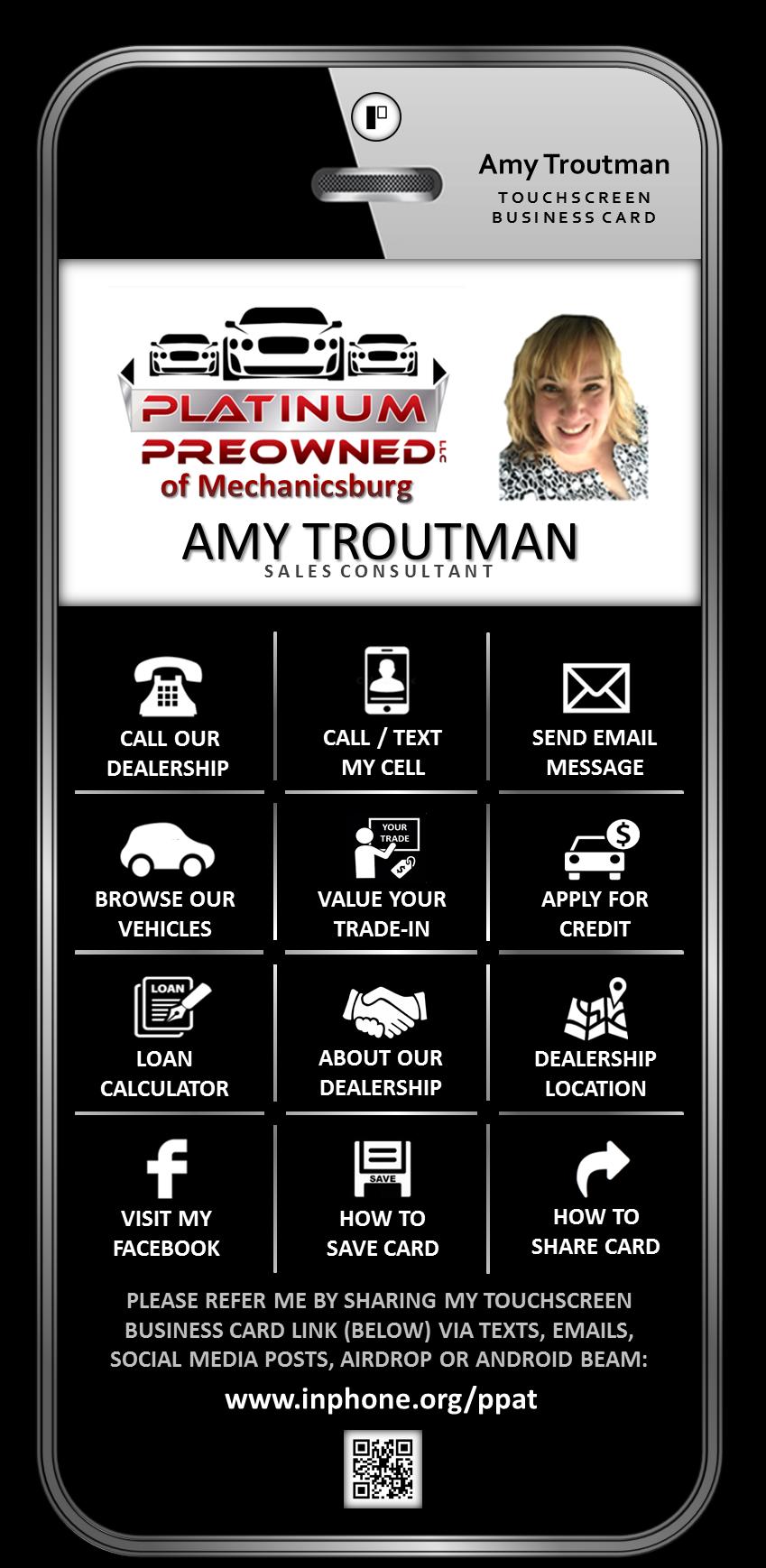 Amy Troutman - Platinum of Mechanicsburg