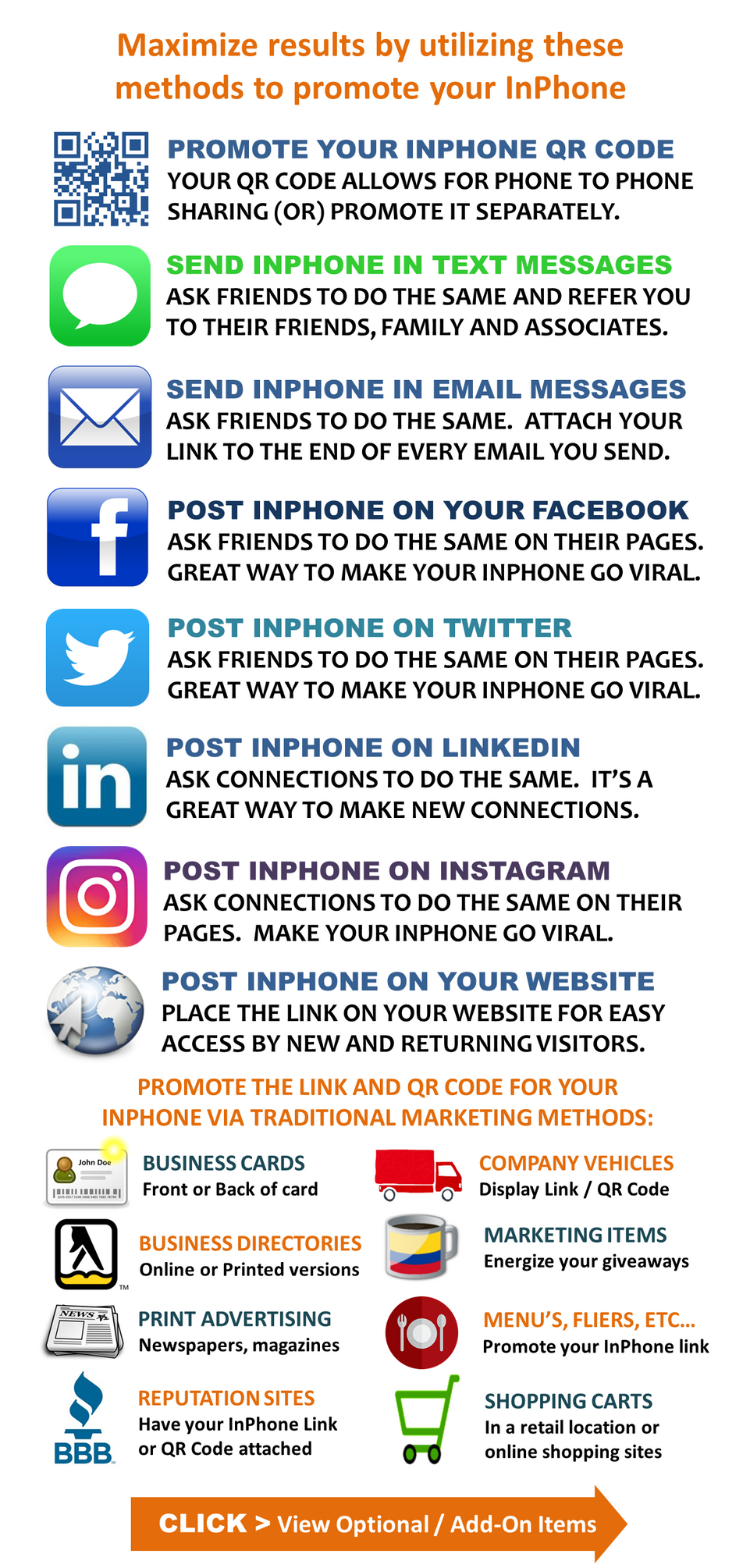 My InPhone - Website - Ways to promote.p
