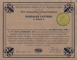 Criadero Sobresaliente - TICA
