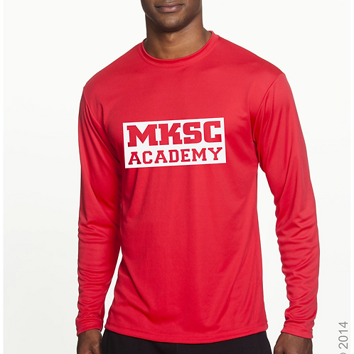 ADULT MKSC Academy Long Sleeve PRACTICE shirt