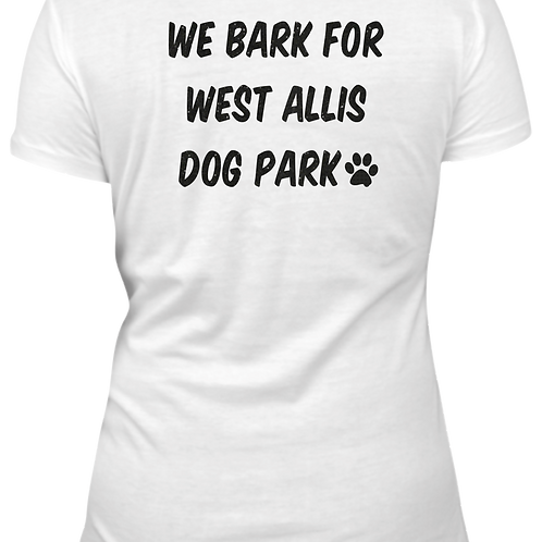Womens Crimson Club Dog Park V-neck