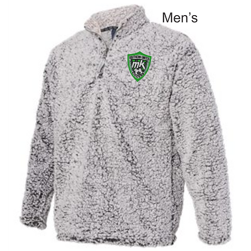 Mens 1/4 Zip Sherpa