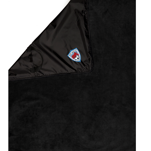 New Berlin Embroidered Ultra Club Packable Blanket