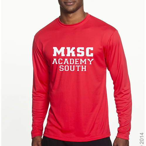 ADULT MKSC Academy South Long Sleeve PRACTICE shirt
