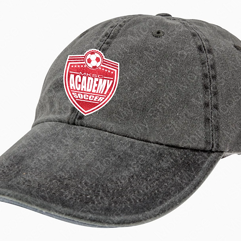 Ladies unstructured GLITTER baseball cap - MKSC Academy