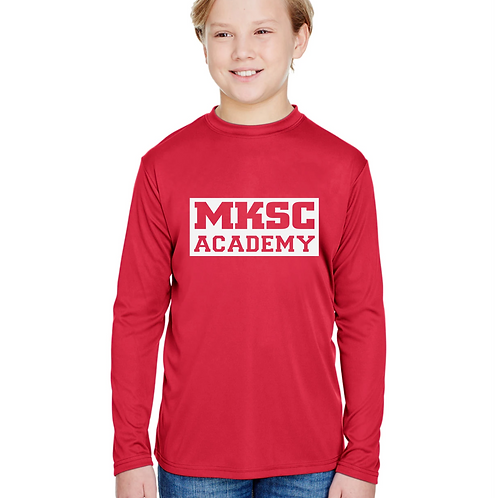 Long Sleeve Youth MKSC Academy PRACTICE shirt