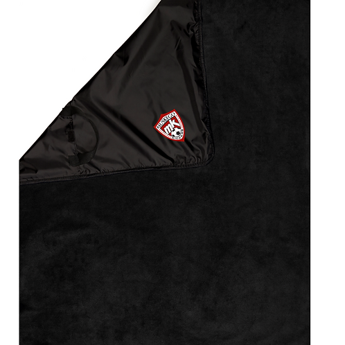 Muskego Embroidered Ultra Club Packable Blanket