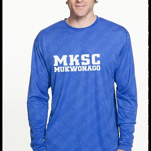 ADULT MKSC Mukwonago Long Sleeve performance shirt