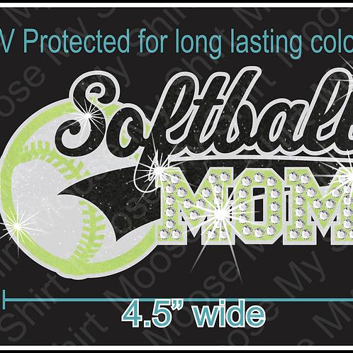 Multi-dec Sports Mom Soccer Car Decal Window Sticker