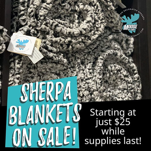 Ultra Soft Sherpa Blanket