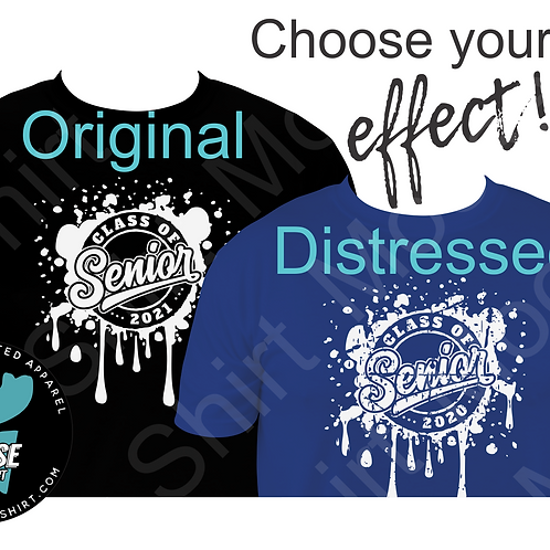 Class of 2020 Senior Tee - choose your color and style