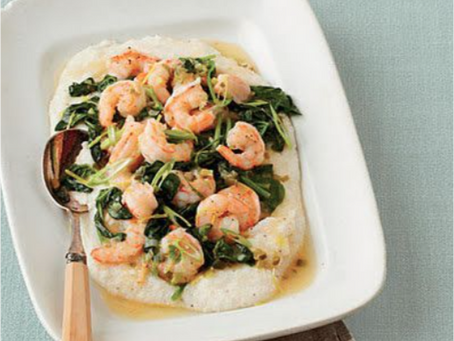 Healthy Recipe: Shrimp and Grits