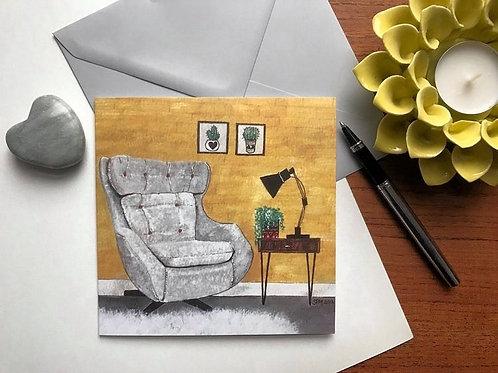 Art Card 'Parker Knoll Statesman Chair'