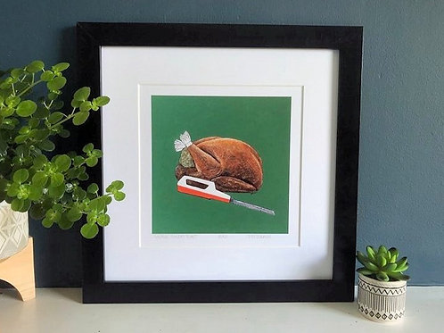 'Vintage Sunday Roast' Limited Edition Print & Card