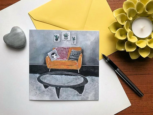 Art Card 'GPlan Yellow Sofa'