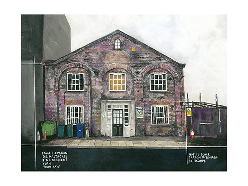 Small Giclee Print - The Malthouse, York