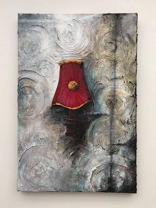 'Shades of Decay 02' - Original Mixed Media Painting