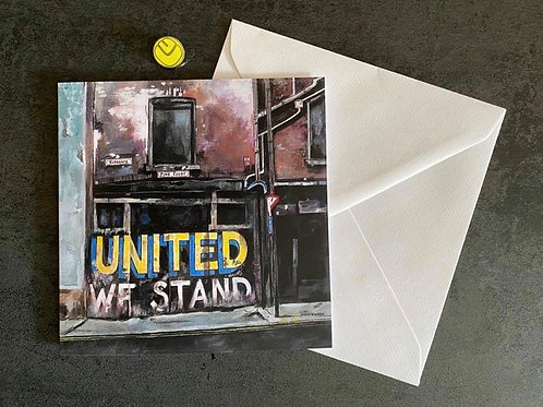 'United We Stand' Card