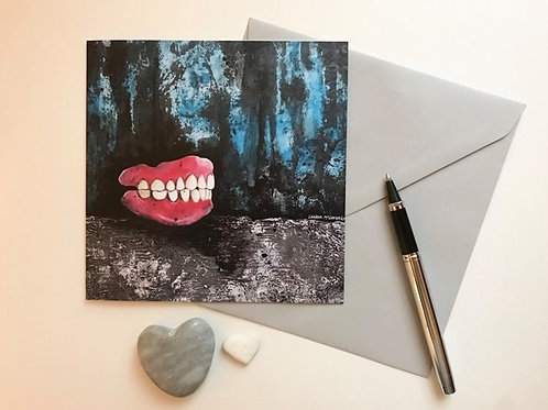 Art Card Featuring the 'Always Loved Your Smile' Painting
