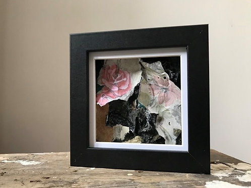 'Fragmented 35' - Original Mini Decay Painting