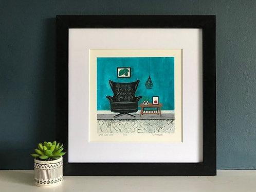 'GPlan 6250 Chair' Giclee Print