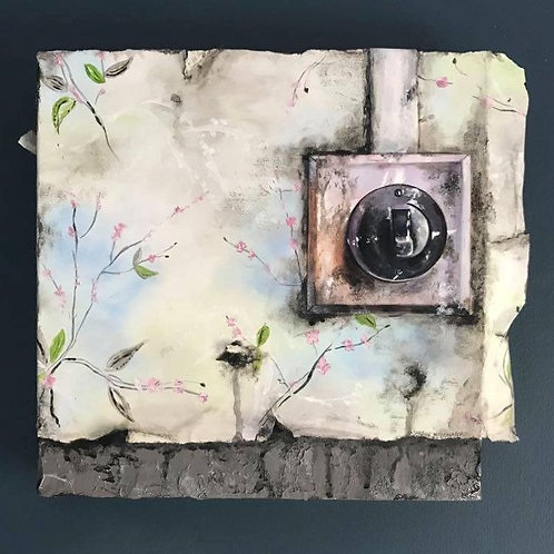 Fragments 09 - Original Mixed Media Painting