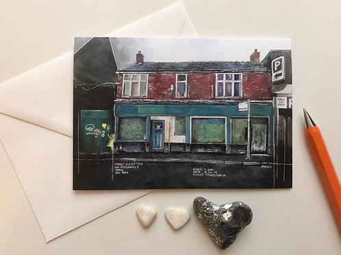 Art Card Featuring the '40 Piccadilly' Painting