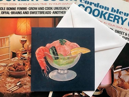 Prawn Cocktail Art Card