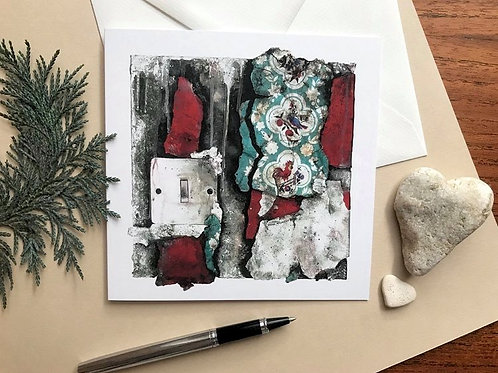 Art Card Featuring the 'Fragments 07' Painting