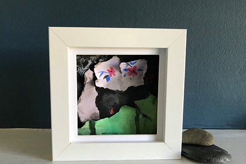 Original Mixed Media Mini Painting 'Fragmented 10'