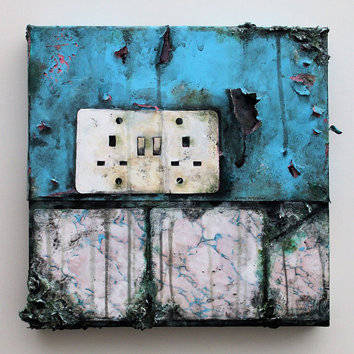 Original Mixed Media Painting 'Fragments 06'