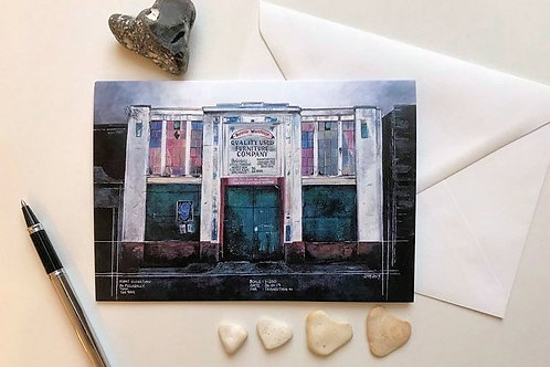 Art Card Featuring the 'Banana Warehouse' Painting