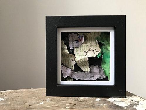 'Fragmented 42' - Original Mini Decay Painting