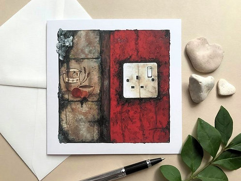 Art Card Featuring the 'Fragments 08' Painting