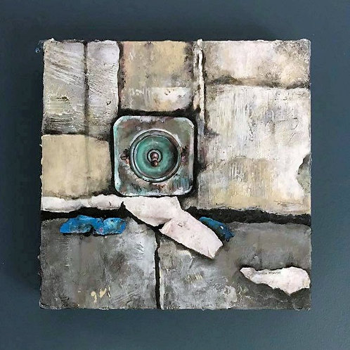 Fragments 05 - Original Mixed Media Painting