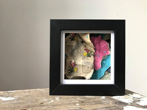 'Fragmented 38' - Original Mini Decay Painting