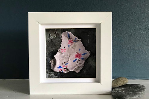 Original Mixed Media Mini Painting 'Fragmented 03'