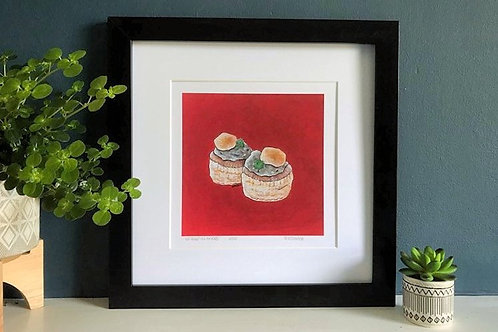 'Not Soggy Vol au Vents' Limited Edition Print & Card