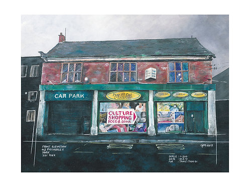 '42 PICCADILLY' - LIMITED EDITION GICLEE PRINT