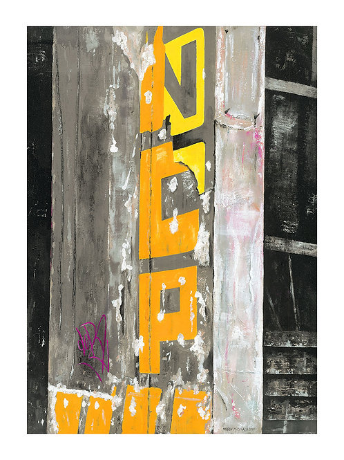 NCP Sign Piccadilly - Giclee Print (small)