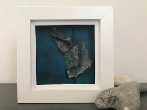 Original Mixed Media Mini Painting 'Fragmented 24'
