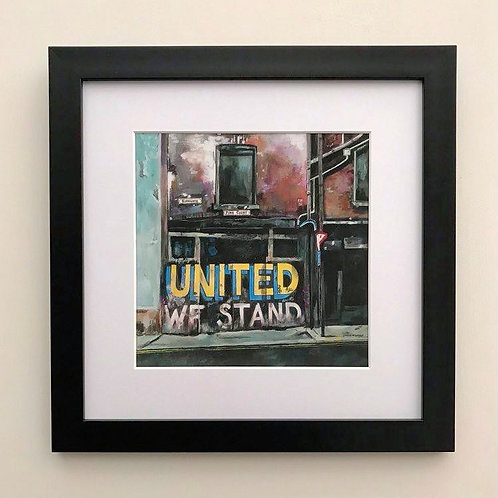 'United We Stand' Leeds United Giclee Print