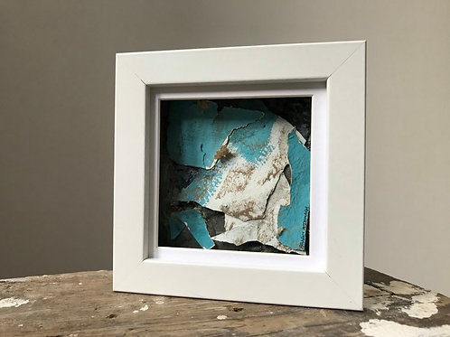 'Fragmented 40' - Original Mini Decay Painting