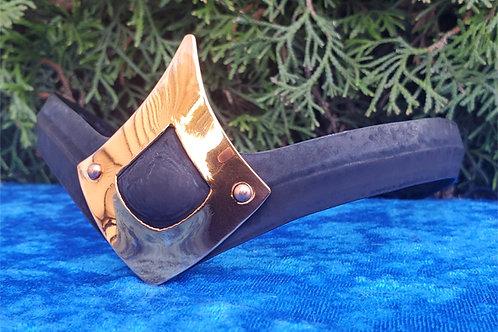Teardrop Crown - Flat Black Copper