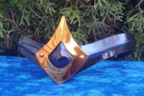 Teardrop Crown - Blue Copper