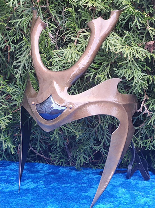 Stag Crown - Bronze Blue