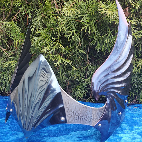 Wing Crown - Blue Silver
