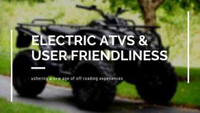 DRR Electric ATV User Friendliness