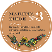 Marites ziede nr.3 mariteszalites.lv