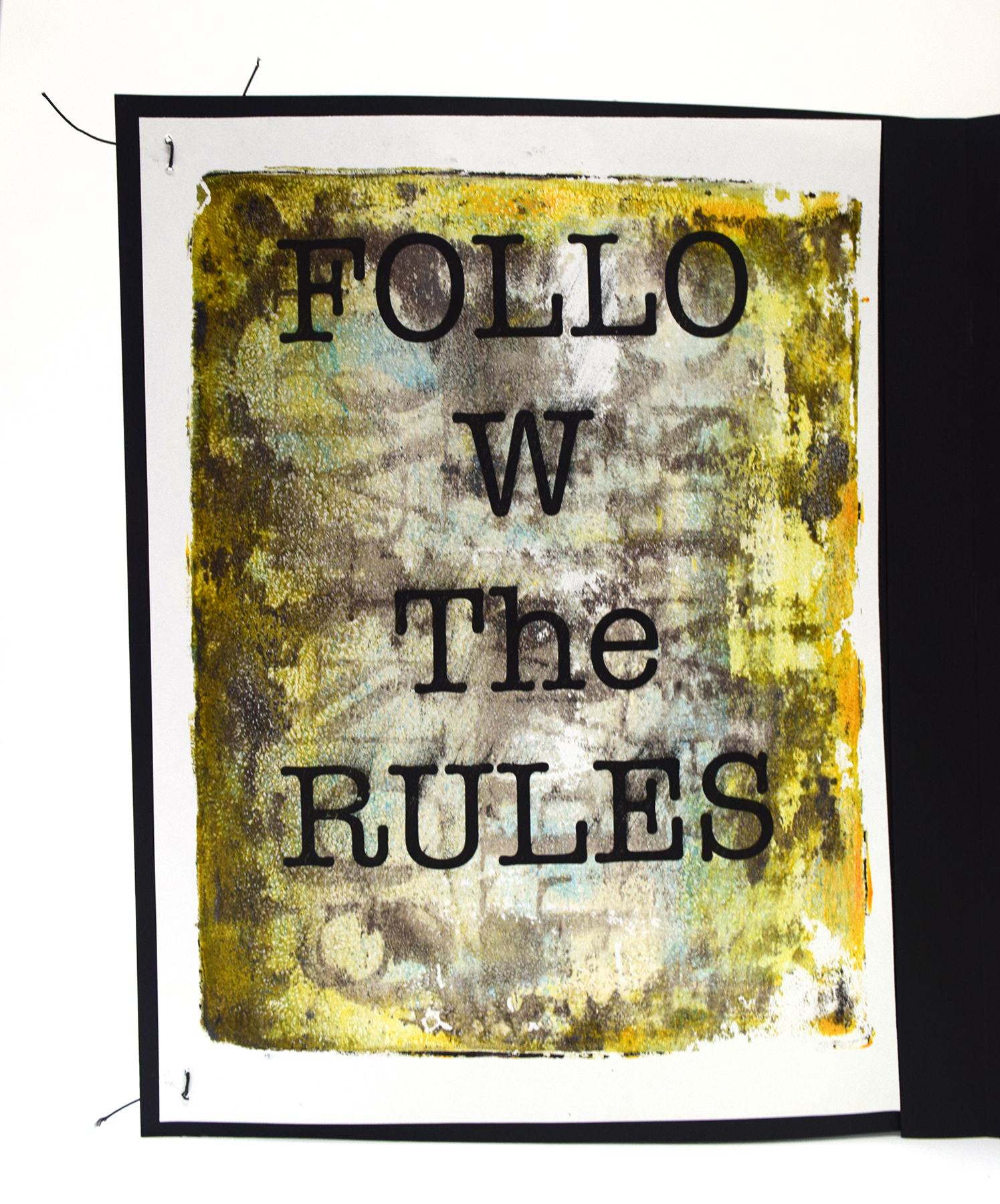 Goodby 2020-Detail Folow the Rules